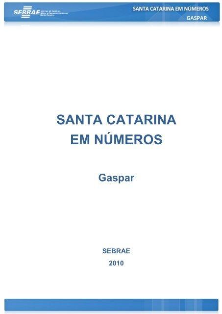 GASPAR - Sebrae/SC