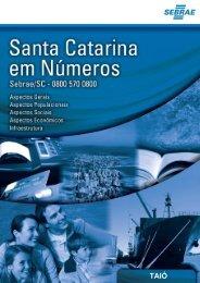 SEBRAE - Santa Catarina em números - TAIÓ - Prefeitura Municipal ...
