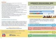 Cartilha Condigital - Secretaria da Educação