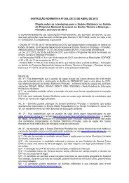 INSTRUÇÃO NORMATIVA Nº 004, DE 23 DE ABRIL DE 2013 ...