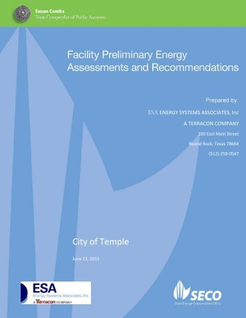 Temple - State Energy Conservation Office