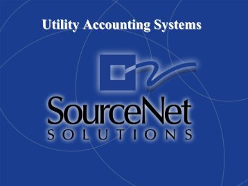 Utility Accounting Systems - State Energy Conservation Office