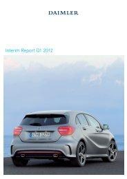 Daimler Interim Report Q1 2012