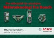 MÃ¥leteknologi fra Bosch