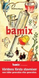 Broschyr Bamix (PDF) - Dafra