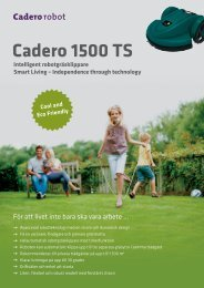 Cadero 1500 TS - Tretti.se