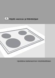 Käyttö- asennus- ja liitäntäohjeet - Tretti.fi