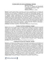 FLEXIBILIDADE APLICADA AO PERSONAL ... - Training Comp