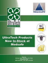 UltraTech Products Now In-Stock at Medsafe - Gosafe.com