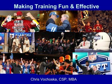 Fun and Effective Training