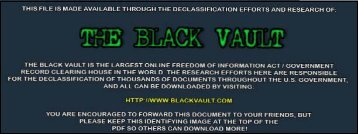 Scanned Document - The Black Vault