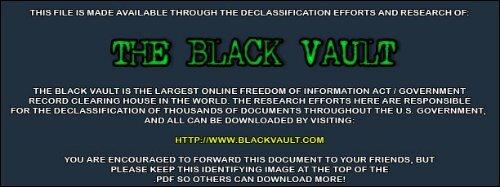 Extraterrestrial Intelligence - The Black Vault