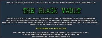 2012 - The Black Vault