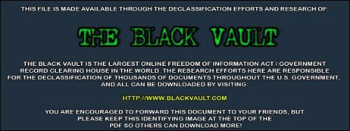 2009 Documentsblackvaultcom The Black Vault