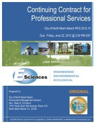 Continuing Contract for Professional Services