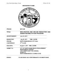 invitation to bid itb no: 2011-08 title: infiltration and inflow reduction ...