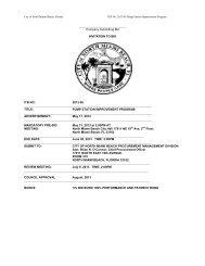 Company Submitting Bid INVITATION TO BID ITB NO: 2013-05