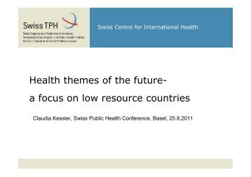 MMS context analysis - Swiss Public Health Conference 2011