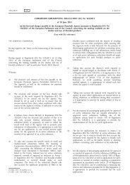 Commission Implementing Regulation (EU) No 564/2013 ... - EUR-Lex