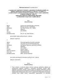 Rámcová zmluva č. bio/356/O/2013 - Centrum pre chemické látky a ...