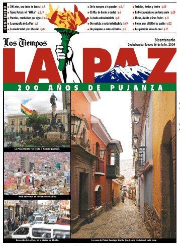 Premaq. Bicentenario La Paz - Los Tiempos