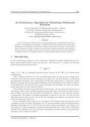An Evolutionary Algorithm for Minimizing Multimodal ... - CiteSeerX