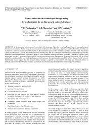 Tumor detection in colonoscopic images using hybrid methods for ...