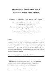 Determining the Number of Real Roots of Polynomials through ...