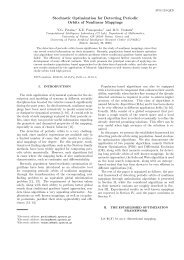 Stochastic Optimization for Detecting Periodic Orbits of Nonlinear ...