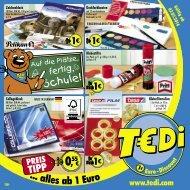 TEDi - Auf die Plätze, fertig, Schule - 2.07.2014 - DE