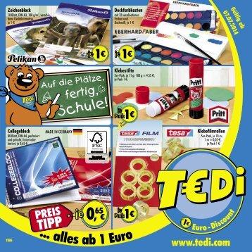 TEDi - Auf die Plätze, fertig, Schule! - 2.07.2014 - A