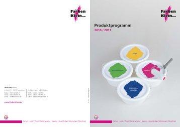 und Kellenputz LF - Farben Klein GmbH