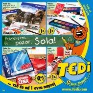 TEDi - Pripravljeni, pozor, šola - 2.07.2014 - SI