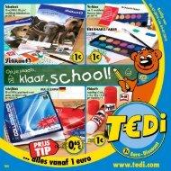 TEDi - Op je plaats, klaar, school! - 2.07.2014 - NL