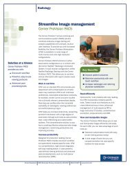 Cerner ProVision Document Imaging Solutions - Cerner Corporation