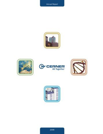 Cerner corporation Custom paper Example - June 2019 - 2463 words