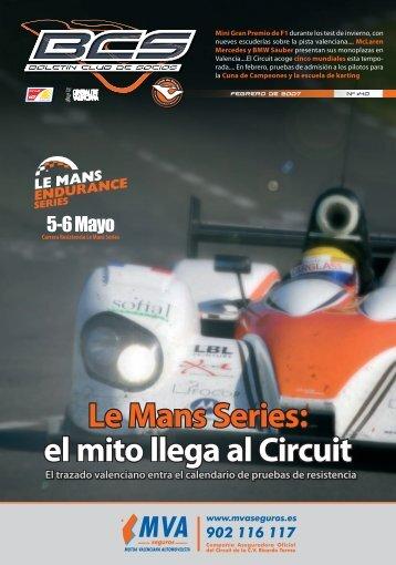 Le Mans Series - Circuit de la Comunitat Valenciana Ricardo Tormo