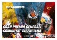 VIP PRODUCTS - Circuit de la Comunitat Valenciana Ricardo Tormo