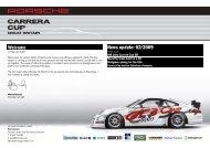 Carrera Cup GB 2009 News Update 02 - Design 911