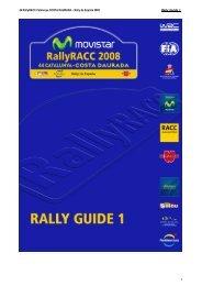 44 RallyRACC Catalunya COSTA DAURADA – Rally de España ...