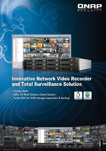 Innovative Network Video Recorder and Total Surveillance Solution