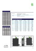Data sheet ROLINE Industrie Switch 7x RJ-45, 1x ST ... - ROTRONIC - Page 3