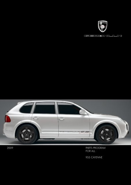 Gemballa Parts Program for 955 Cayenne | 2009 - Design 911