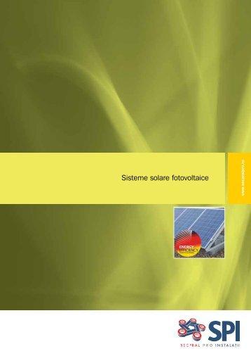 Sisteme solare fotovoltaice - Secpral Pro Instalatii