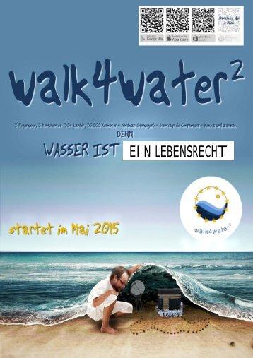 WALK4WATER² - WASSER ISTEIN LEBENSRECHT