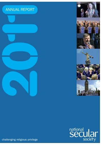 NSS Annual Report 2011 - National Secular Society