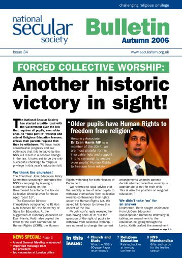 NSS Bulletin - National Secular Society