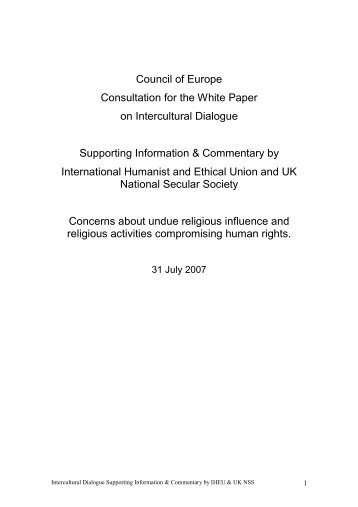 IHEU - National Secular Society