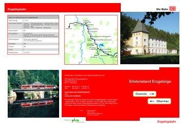 Weitere Ausflugstipps und Informationen zum ... - Erzgebirgsbahn