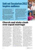 NSS Bulletin 52 Autumn 12 - National Secular Society - Page 4